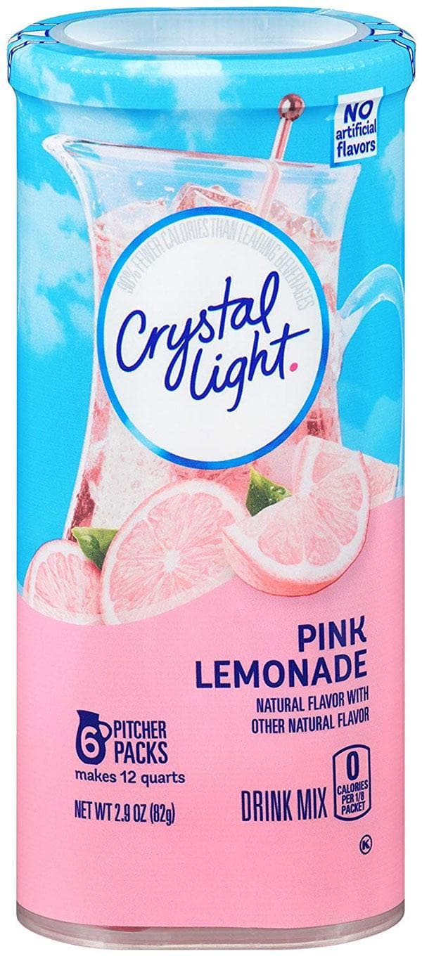 Crystal Light Drink Mix Limonada Rosada