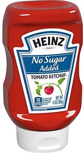 Salsa de tomate Heinz sin azúcar añadido