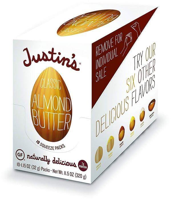 La clásica mantequilla de almendras de Justin