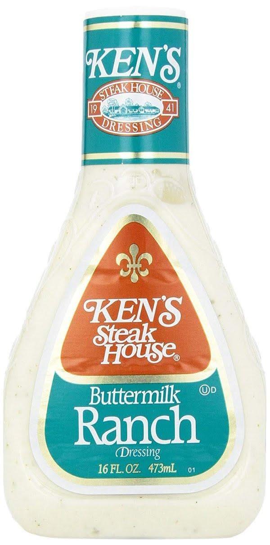 Aderezo de Ken's Foods Ranch