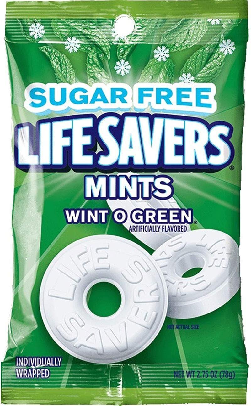 Salvavidas Wint O Verde Sin Azúcar