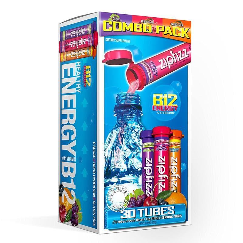 Mezcla de bebida energética Zipfizz