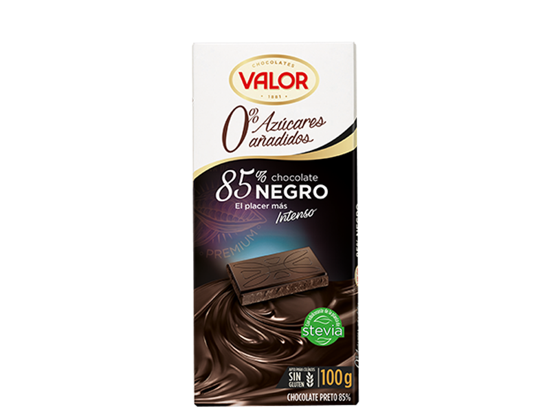 chocolate-negro-85-con-stevia-valor