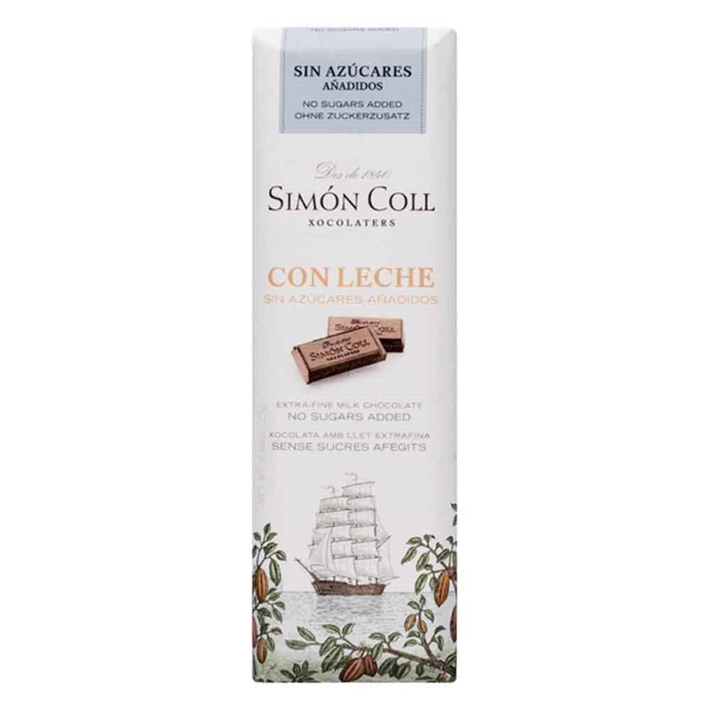 chocolate con leche sin azúcares añadidos Simón Coll