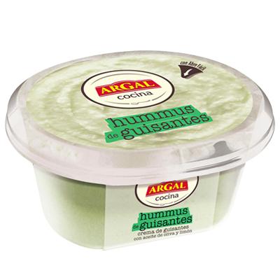 hummus de guisantes Argal