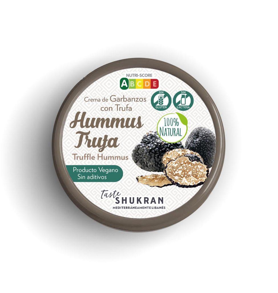 hummus trufa Taste Shukran