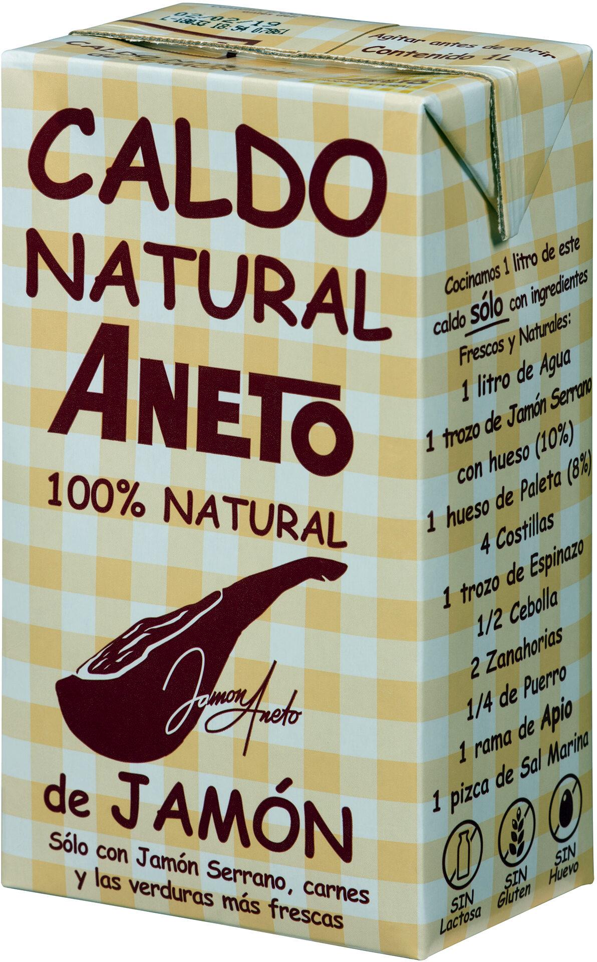 caldo de jamón 100% natural Aneto