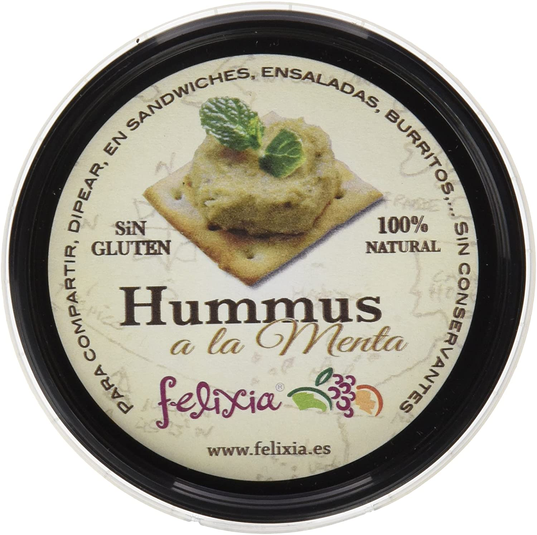 hummus a la menta Felixia