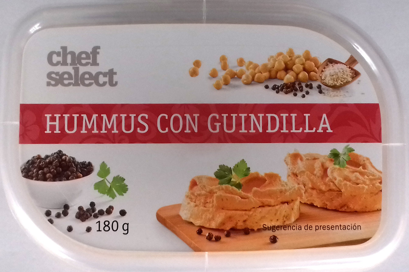 hummus con guindilla Chef Select