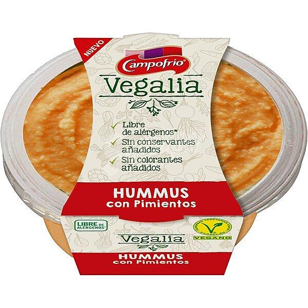 hummus con pimientos Campofrío