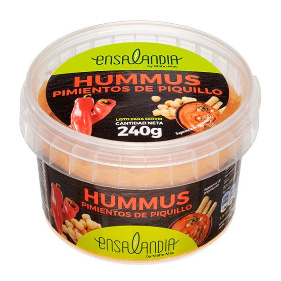 hummus pimientos de piquillos Ensalandia