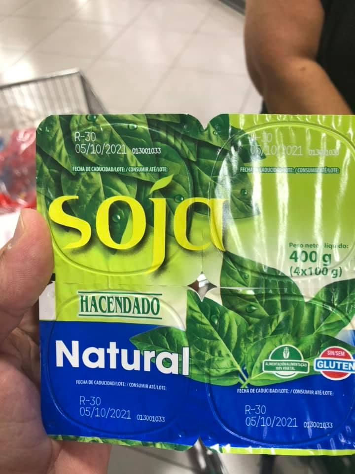 yogures de soja keto